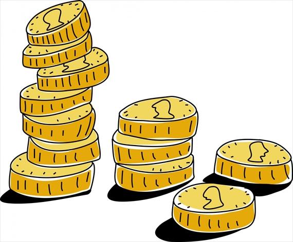 複数のコイン