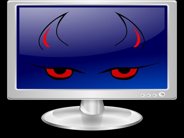 悪魔のパソコン