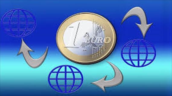 ユーロ通貨のイラスト