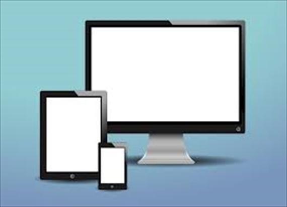パソコンとスマホとタブレットイラスト