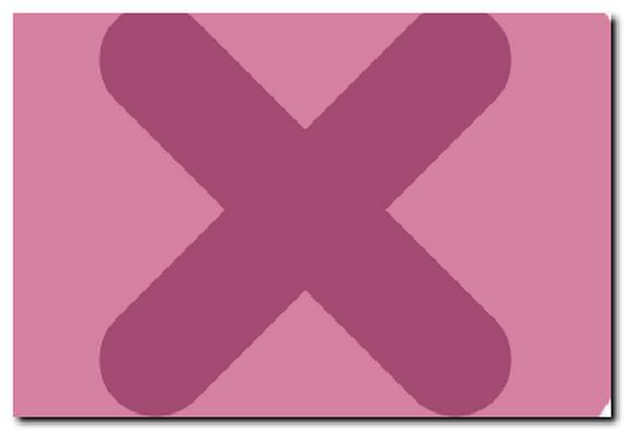 ピンクのバッテンのイラスト