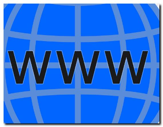 wwwと地球のイラスト