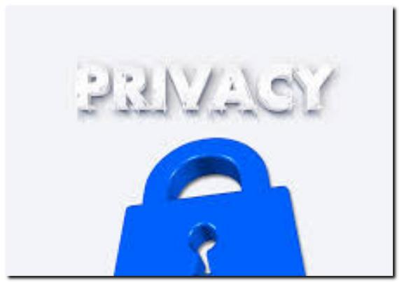 プライバシーポリシーのイラスト画像