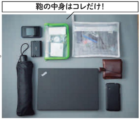 パソコン・傘・財布・スマホ