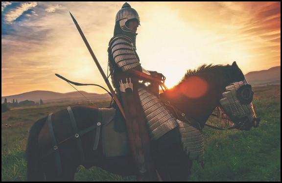 馬に乗った兵士